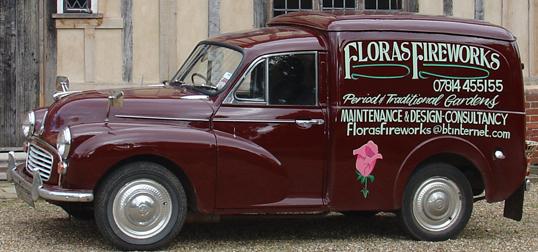 Floras Vintage Car
